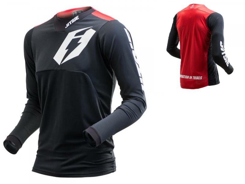 Jitsie T3 Omnia shirt rood