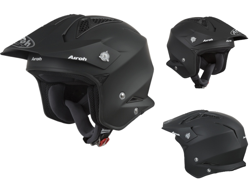 Airoh Trial Helm TRR Zwart