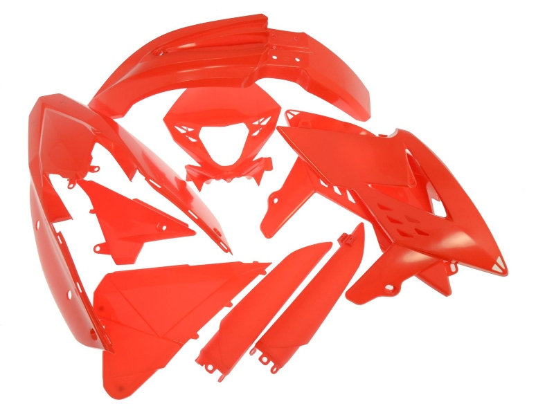 Beta enduro plastic kit rood