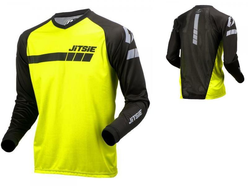 Jitsie shirt Triztan fluo geel